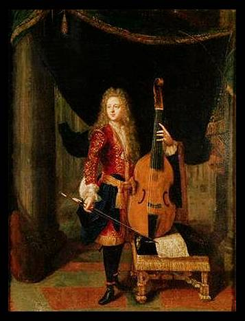 Netscher, Viol Player